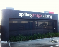 Spitting Image Catering- 10mm thick acrylic letters