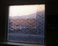 Etch window