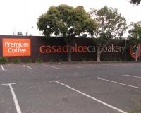 Casadolche Bakery Brick wall Beaumaris