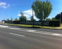 Hoarding Wall in Burwood
