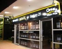 Century 21 Light box fascia signage Cranbourne melbourne